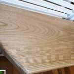 piano bagno in legno