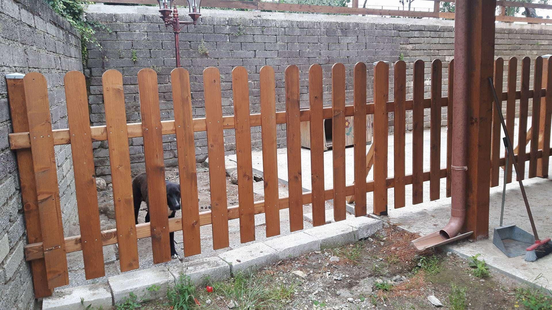 steccati e recinzioni in legno