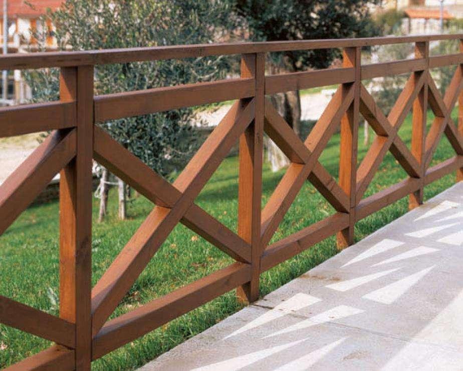 Steccati legnami - Staccionate in legno per giardino ...