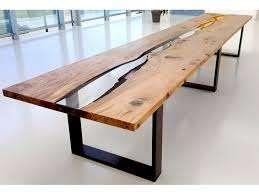 tavolo legno resina epossidica roma legnami