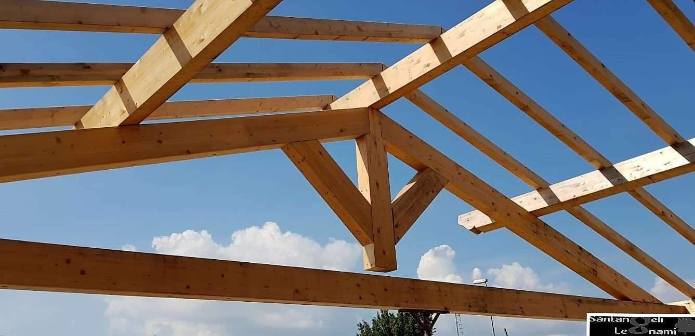 Dimensioni capriata in legno