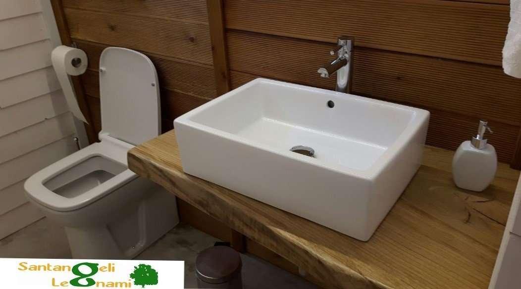 set bagno in legno