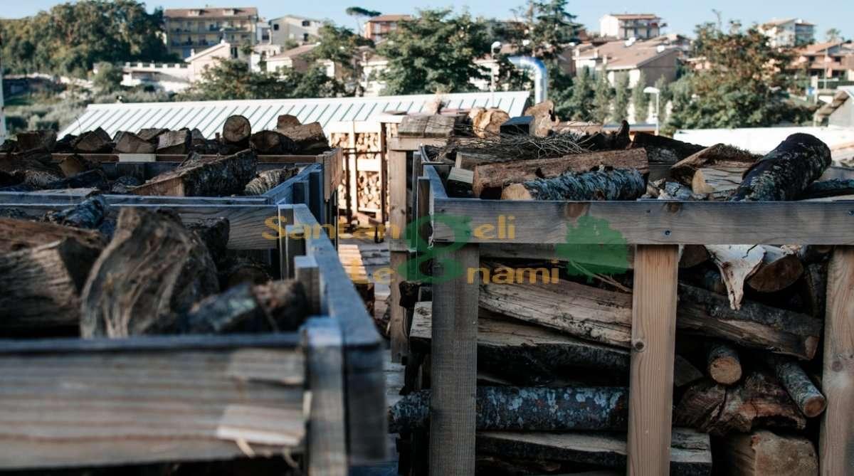 legna da ardere di quercia