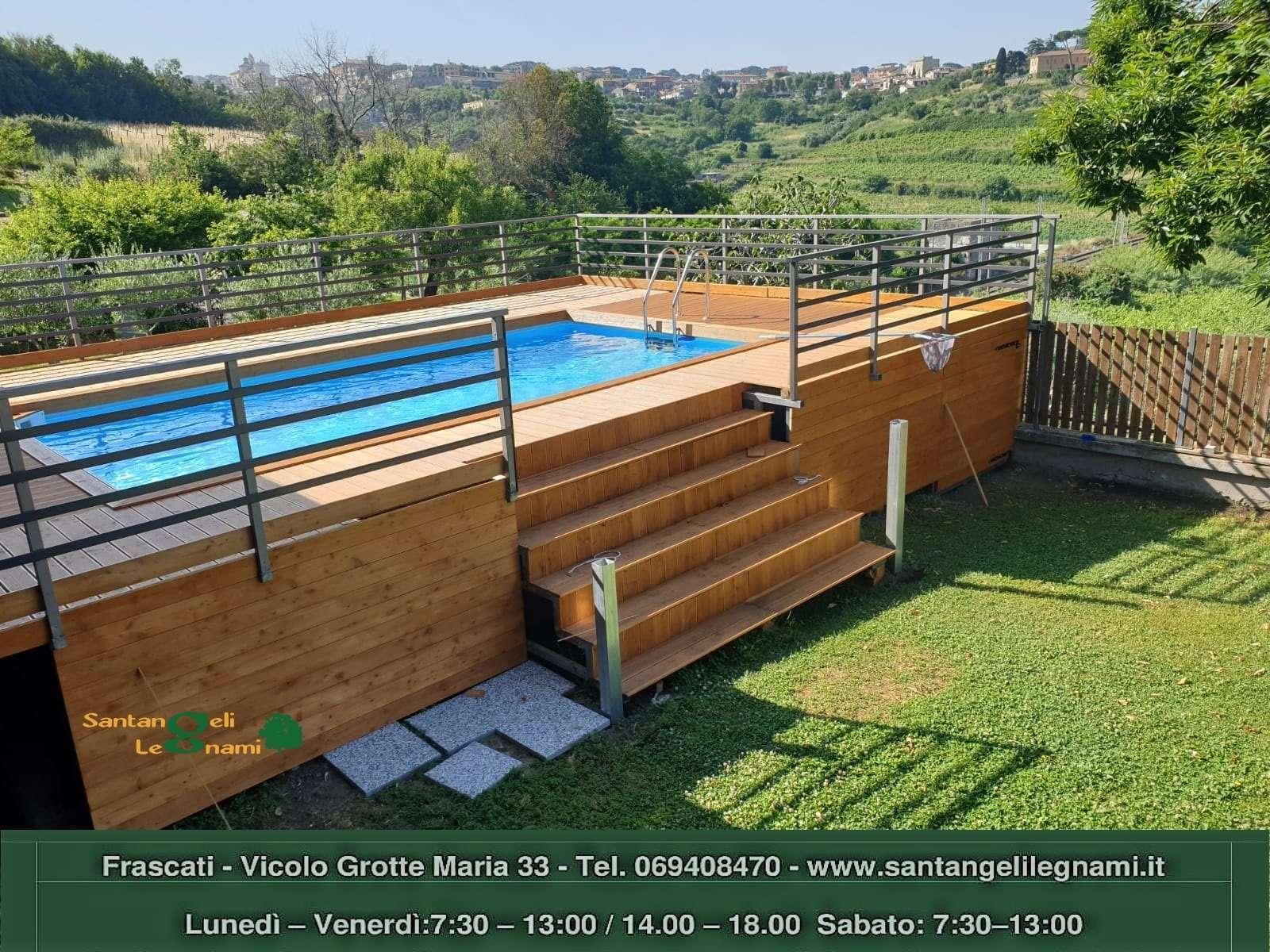 pavimento legno pisicna roma - larice zigrinato roma