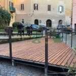 Pavimento birreria Frascati causa covid